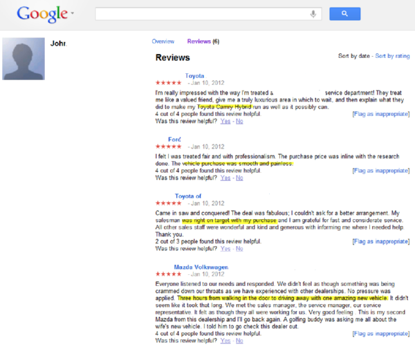 how to get bad reviews off google